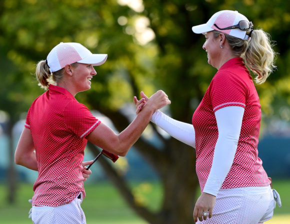 Stacy Lewis And Brittany Lincicome