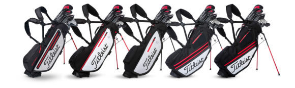 Titleist introduces new Players 4 & Hybrid stand bags...