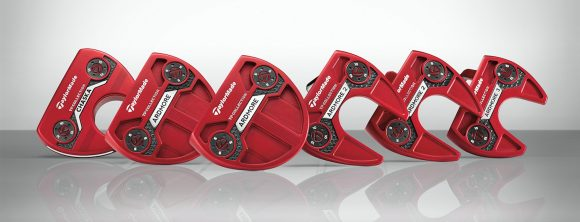 TaylorMade announces TP Red putter collection