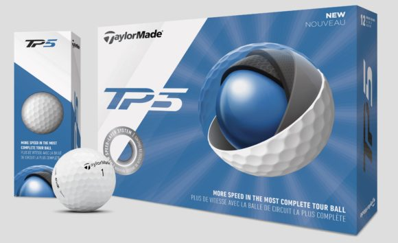 NEW GEAR - TaylorMade TP5 and TP5x balls get 2019 upgrade