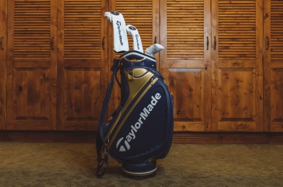 The inspiration for the TaylorMade US PGA staff bags is absolute class