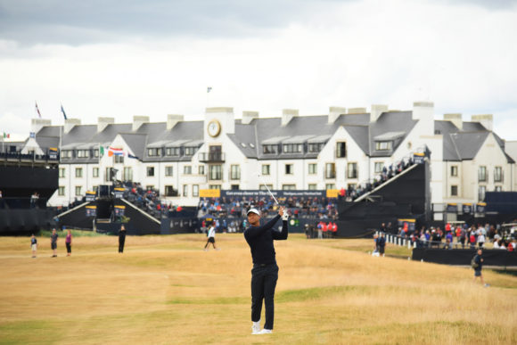 Tiger Woods Carnoustie