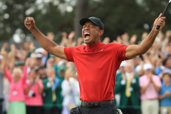 Tiger Woods Masters Champion 2
