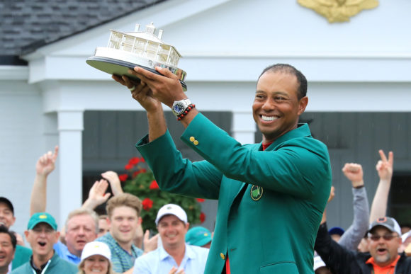 Tiger Woods Masters Champion