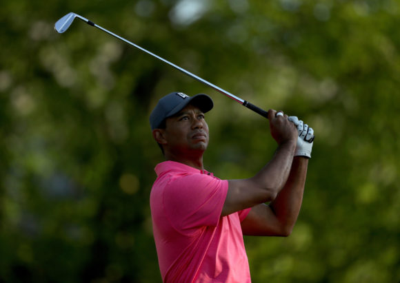 Tiger Woods puts new irons in the bag