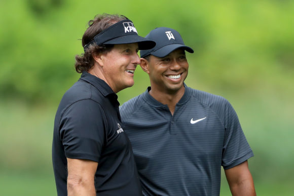 Tiger And Phil The Match