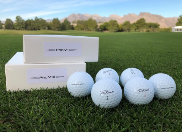 Titleist 2019 Pro V1 and Pro V1x balls make PGA tour debut