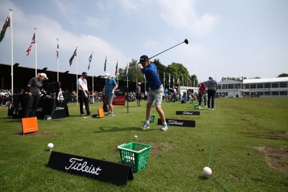 Get inside the rope at the British Masters with Titleist