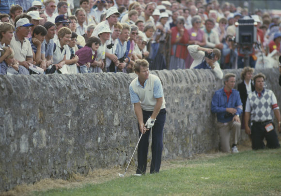 Tom Watson Wall St Andrews 1984