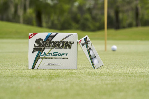 It's here - the all-new Srixon UltiSoft golf ball!