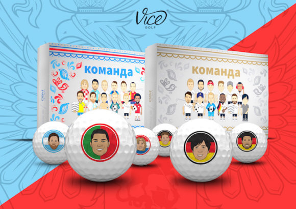 Got World Cup fever? You need these Vice Golf balls