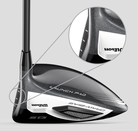 Wilson Launch Pad Driver Offset