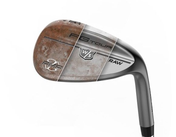 Wilson Staff adds 'rusty' look to wedges