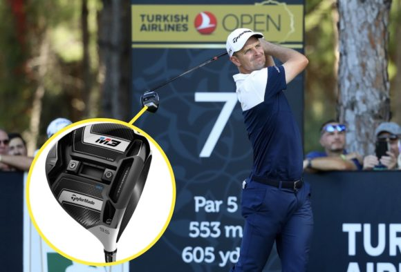 Justin Rose regains world No.1 spot with TaylorMade M3 driver