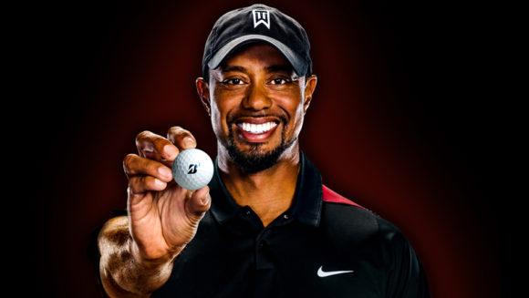 Tiger Woods Bridgestone Golf Balls 2