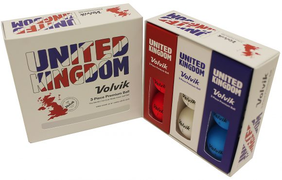 Volvik golf balls updated for patriotic players
