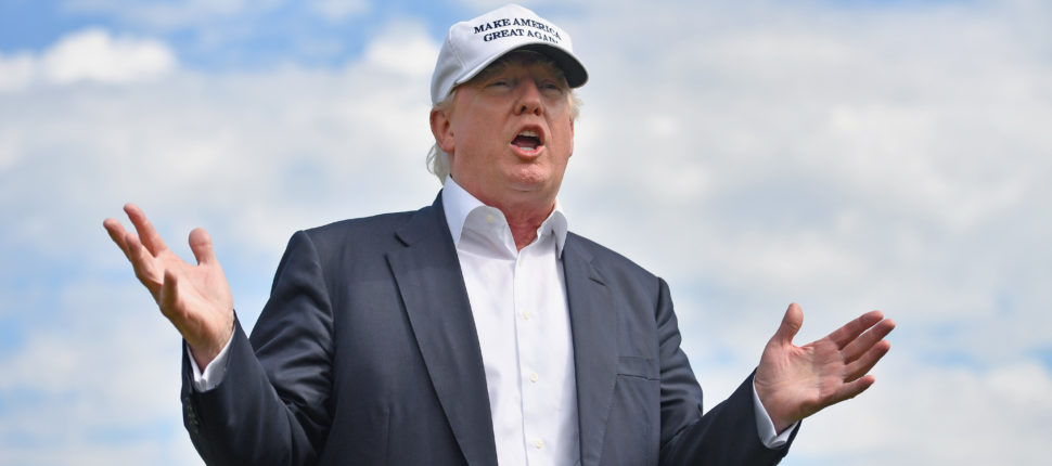 donald trump to play golf with tiger woods and dustin