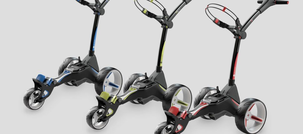 Motocaddy unveils stunning new M-Series trolleys - bunkered co uk