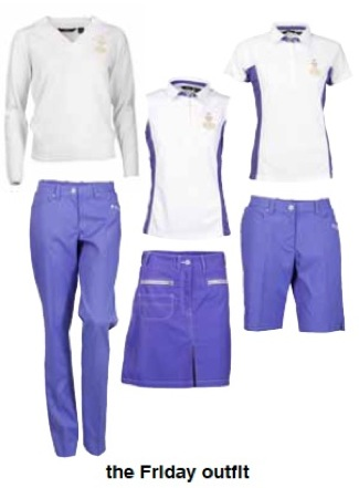 Solheim Cup – Europe's Friday wardrobe