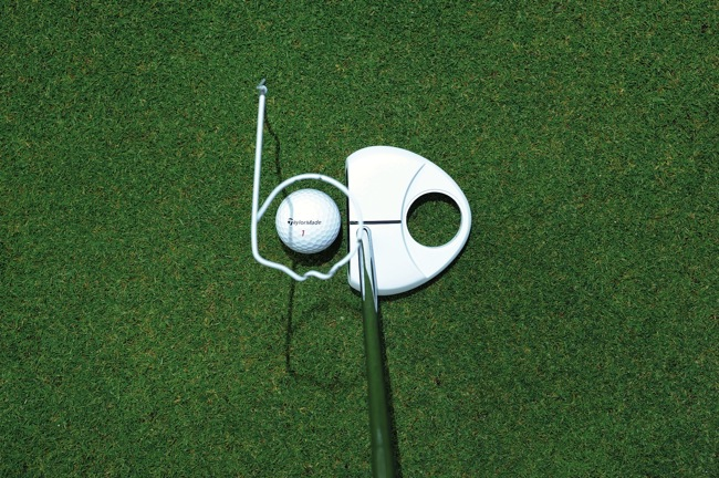 Improve your putting… with a coat hanger
