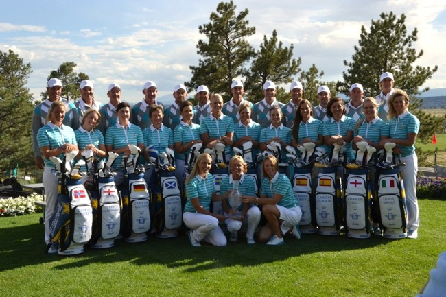 Abacus kit out Europe for Solheim Cup