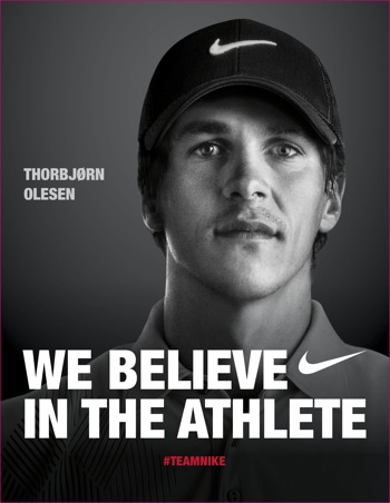 Olesen pens new deal with Nike