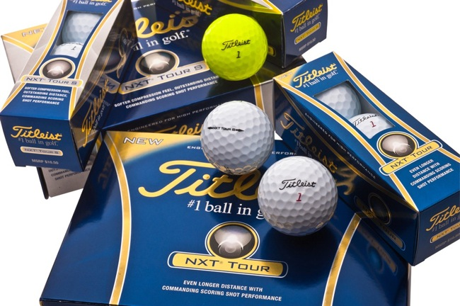 New Titleist ball range hits stores