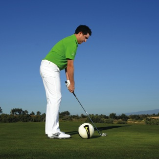 Cure your swing faults with a football