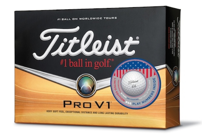 Titleist unveil unique US Open ball