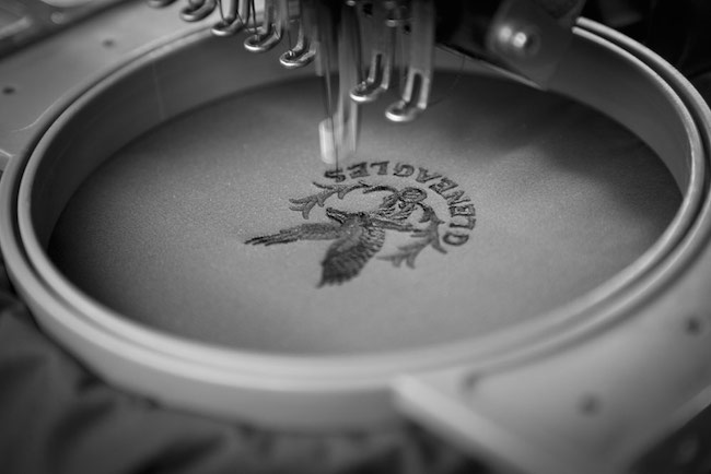 Glenmuir improves embroidery service