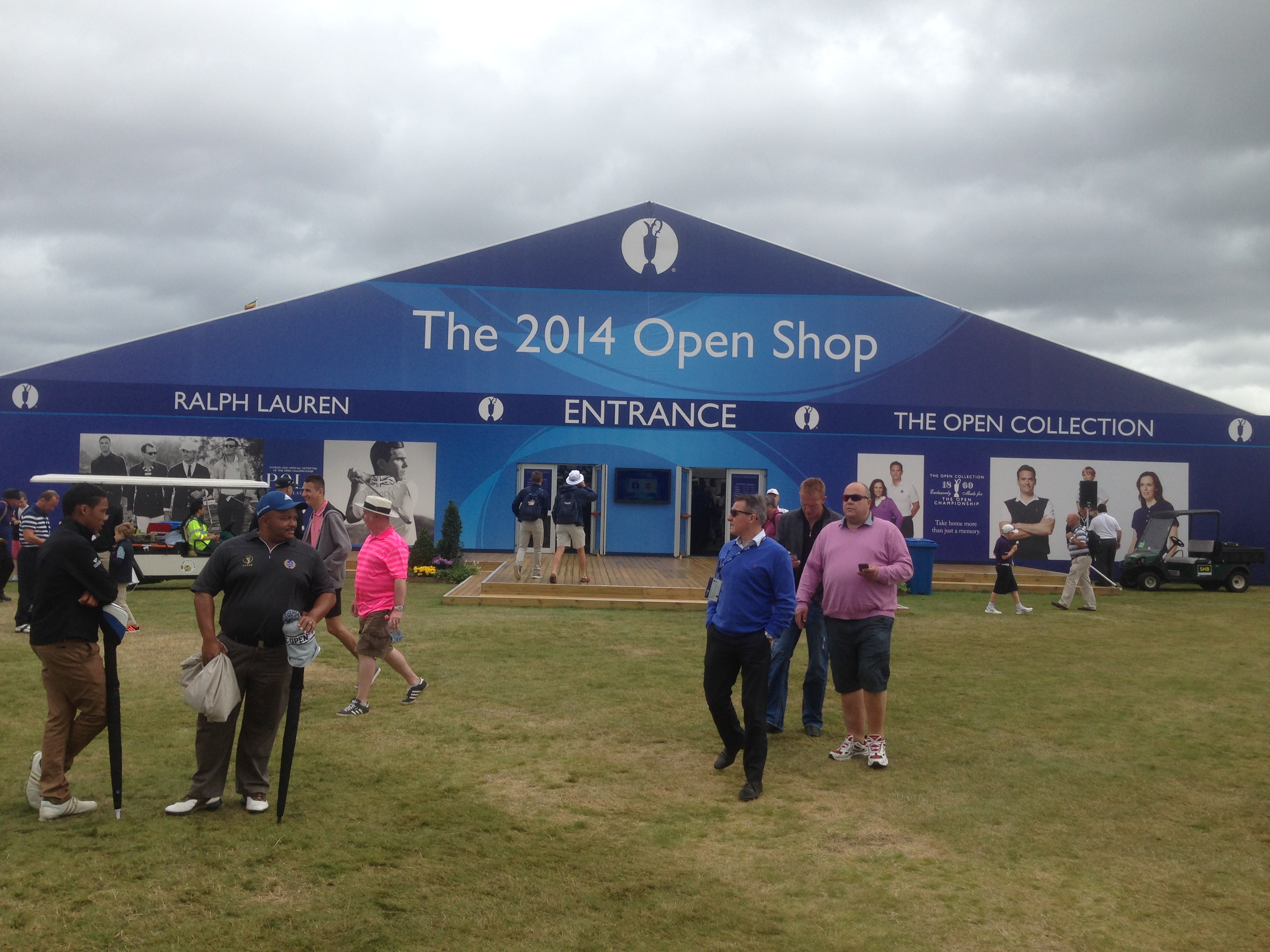 The Open: Roll up for your souvenir gear