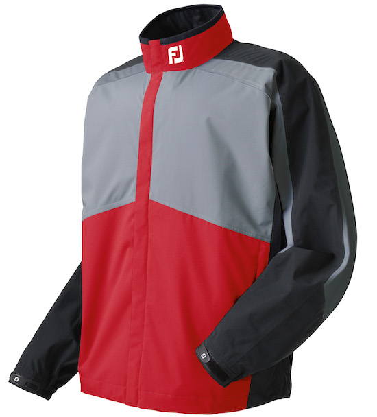 FJ14_HydroLite Jacket 95503 Red Grey Black MR