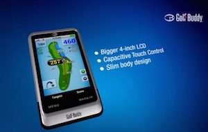 GolfBuddy PT4 :: Advanced Handheld GPS