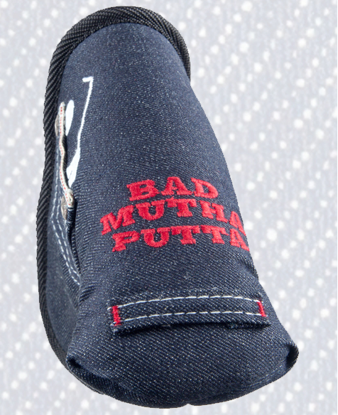 Bunkered Mentality's denim headcover