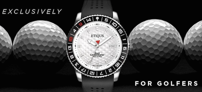 Etiqus debuts exclusive golf timepieces