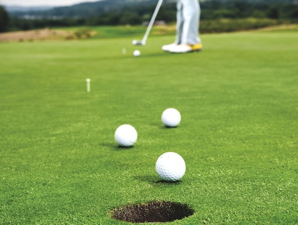 Improve your feel on putts