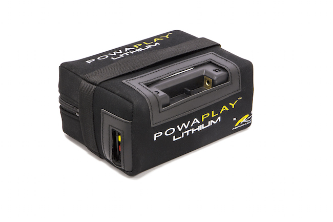 PowaKaddy launch PowaPlay battery