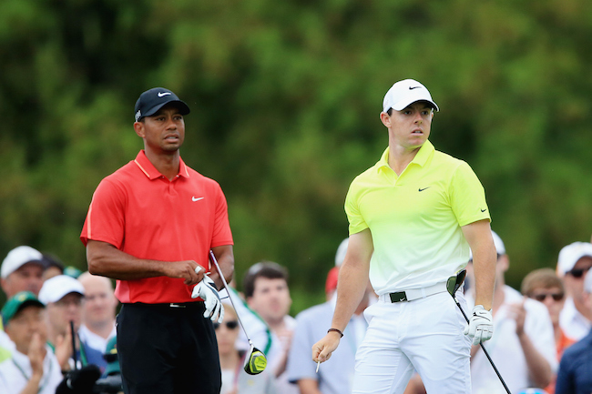 Nike unveil Rory & Tiger's US Open looks