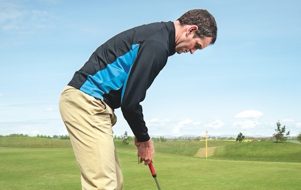 Hit a high draw with your putts