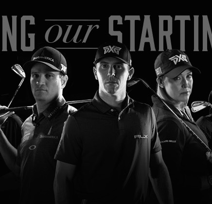 PXG staff led by Open champ Johnson