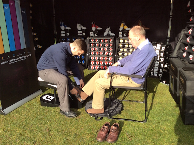 FootJoy to offer special shoe fitting  service at the Scottish Golf Show