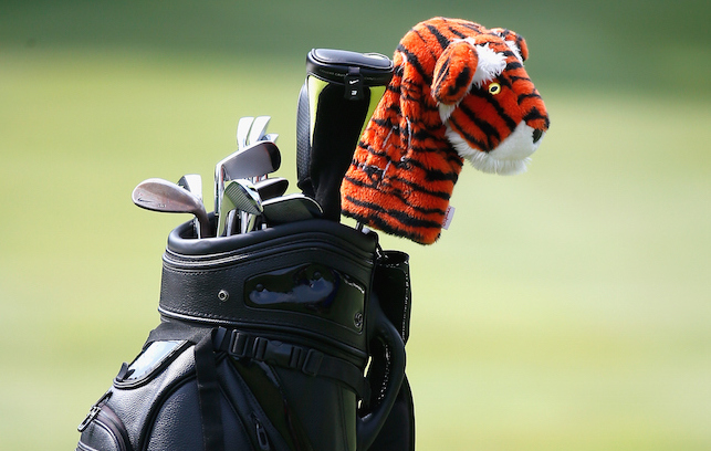 Tiger Woods has a new driver and ball