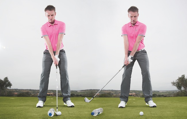 Slow your swing down under pressure