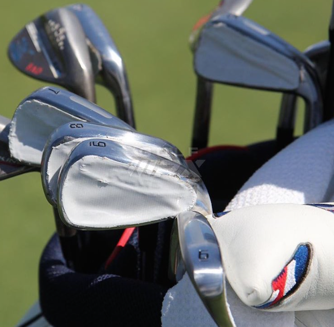 Bryson DeChambeau set for irons switch