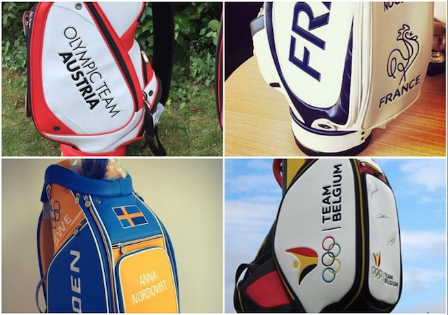 Olympics: First look at team golf bags