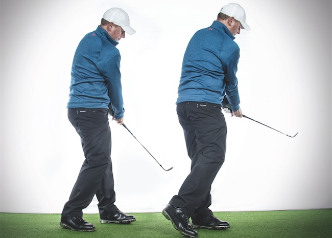 Golf tips: Don't stay rooted on chip shots