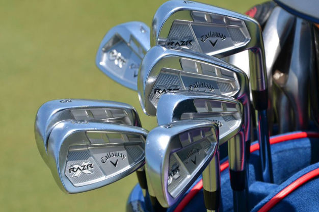 GEAR SHORTS Furyk's 58 clubs, Stenson's gold putter