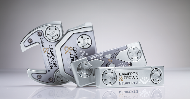 Scotty Cameron reveals 'Cameron & Crown'