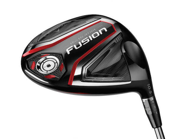 Callaway Big Bertha Fusion woods land