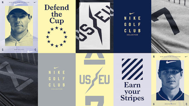 Nike Golf Club: Ryder Cup lifestyle gear
